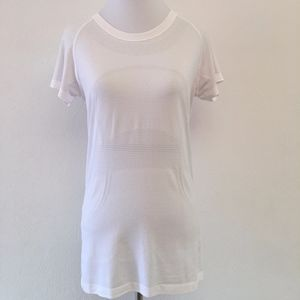Lululemon Swiftly Tech White Short Sleeve Top 8